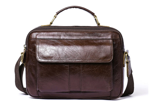 Genuine Leather Camel Yellow Briefcase Vintage Bag Stylish Shoulder Laptop Messenger Bags