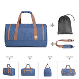 Designers Weekend Travel Garment Bag Shoes Pocket Duffel Gym Bag Carry On Duffle Tote Travel Bags - Travell Well