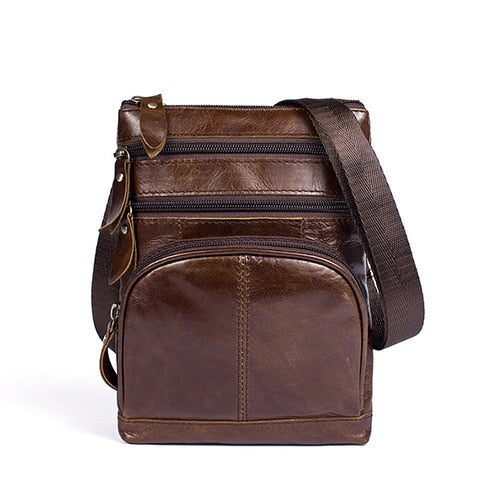 Men's Messenger Zipper Casual Crossbody Shoulder Handbag - Travell Well