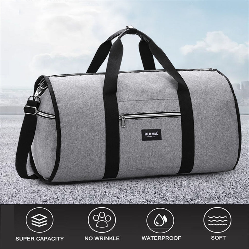 Waterproof Travel Garment Bag Weekender Overnight Duffel Gym Shoulder Luggage Carry On Travel Bags - Travell Well