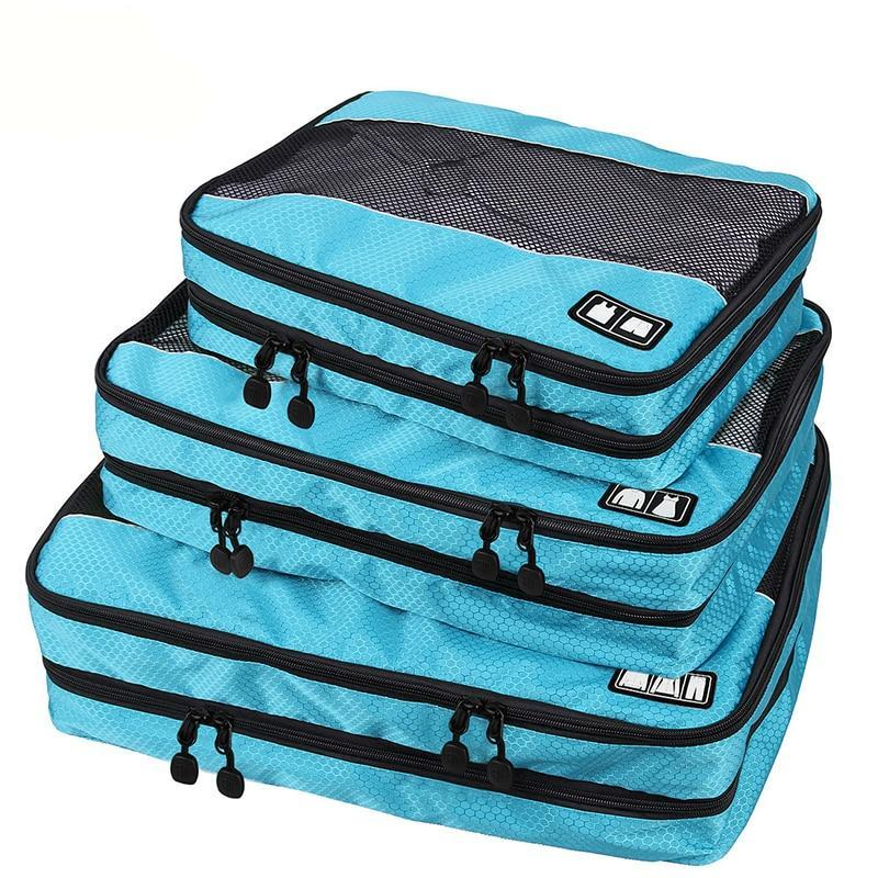 Travel Storage Bag Quality Double Layer Packing Cube Clothing Bag Travel Duffle Luggage Organizer - Travell Well