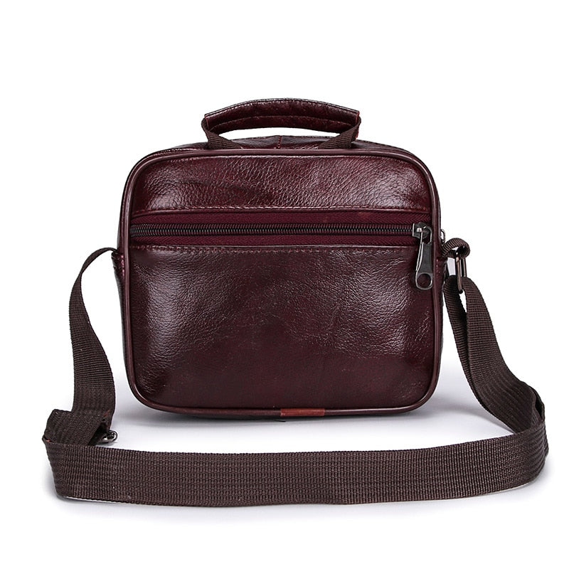 Men's Casual Leather Flap Crossbody High Quality Shoulder Bag - Travell Well