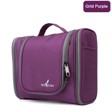 Large Capacity Family Travel Organizer Hanging Bag Waterproof Cosmetic Travel Toiletry Storage Bags - Travell Well