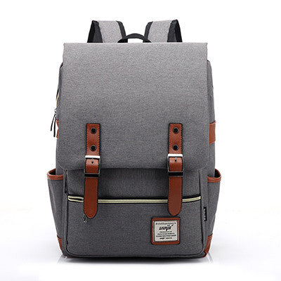 Blue Canvas Backpacks Vintage Women Backpacks Teenage Girls School Bags  Large High Quality Mochilas Escolares New ... ceb0e6c3ba