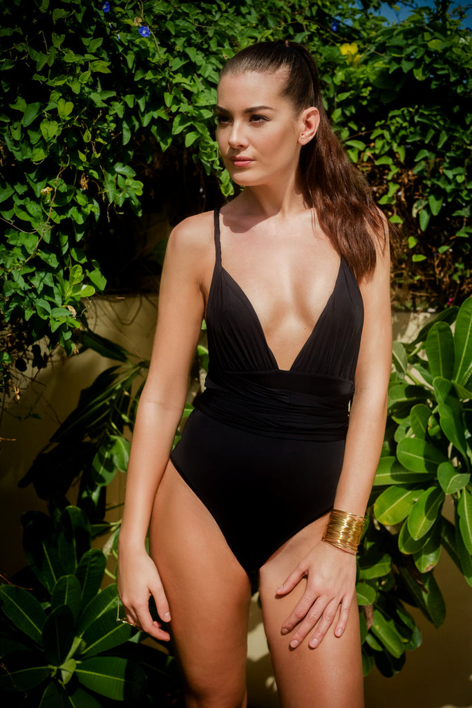 Black Jasmine Multiway Swimwear