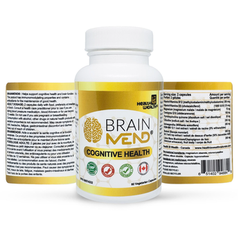 BRAINMEND® - Premium Cognitive Supplement