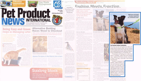 Ruff Life Gear featured in Pet Industry News Magazine