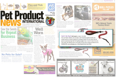 Ruff Life Gear featured in Pet Product News Magazine