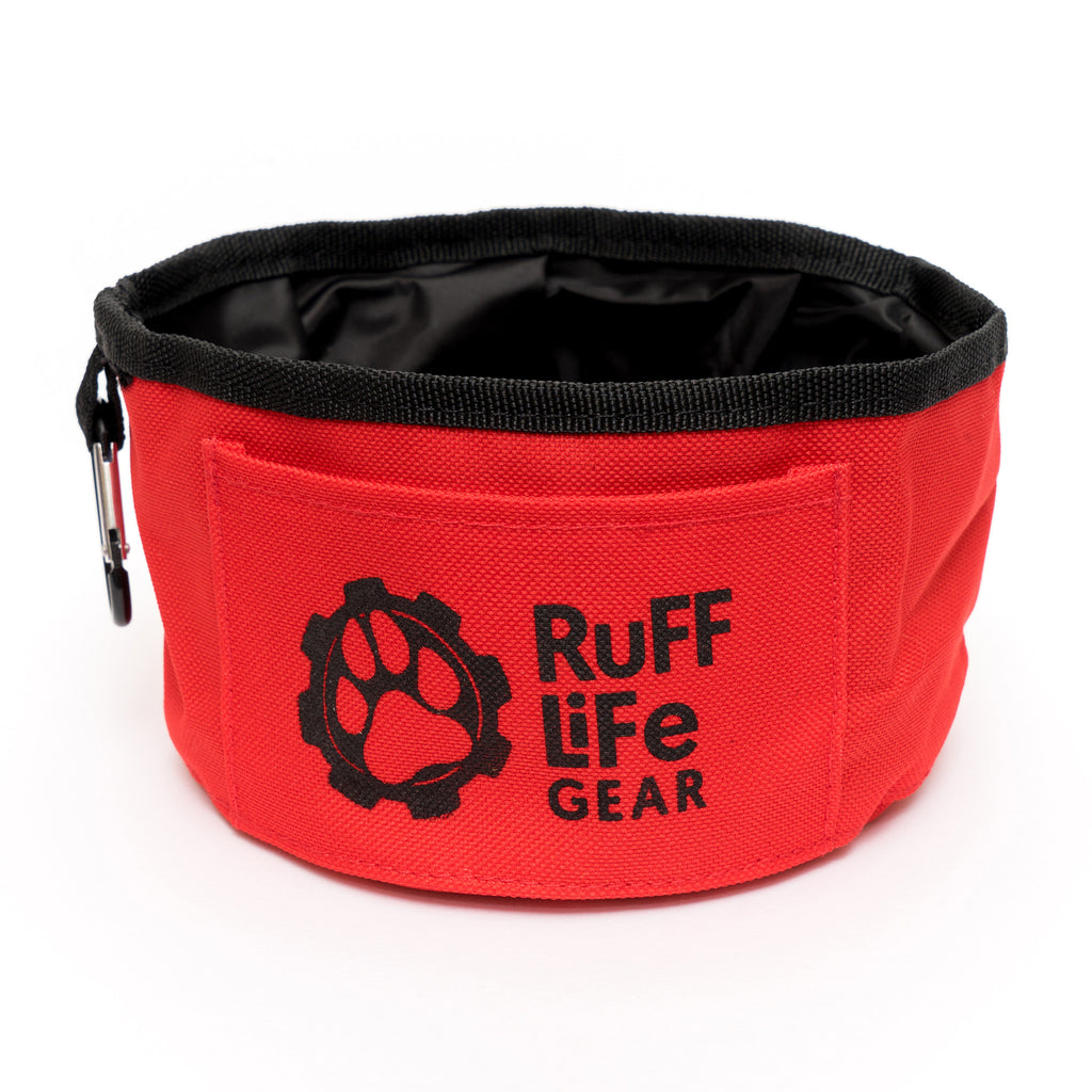 Ruff Life Gear Collapsible Bowl - Ruff Life Gear