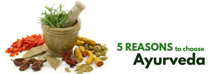 5 Reasons to Choose Ayurveda over Allopathy