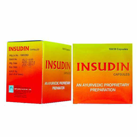 INSUDIN – AYURVEDA FOR DIABETES - Nattura Biocare