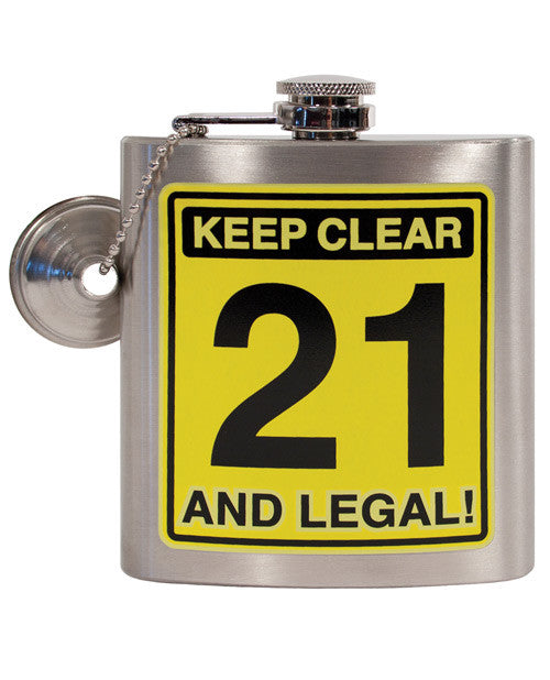 Keep Clear 21 & Legal Flask