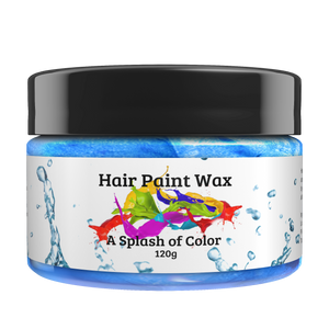 Blue Hair Paint Wax