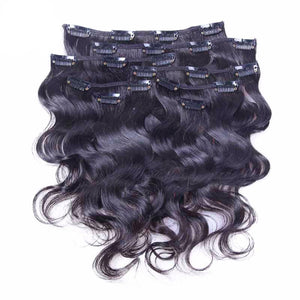 Body Wave Clip Ins 9pcs