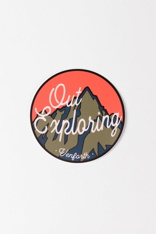 Out Exploring Sticker