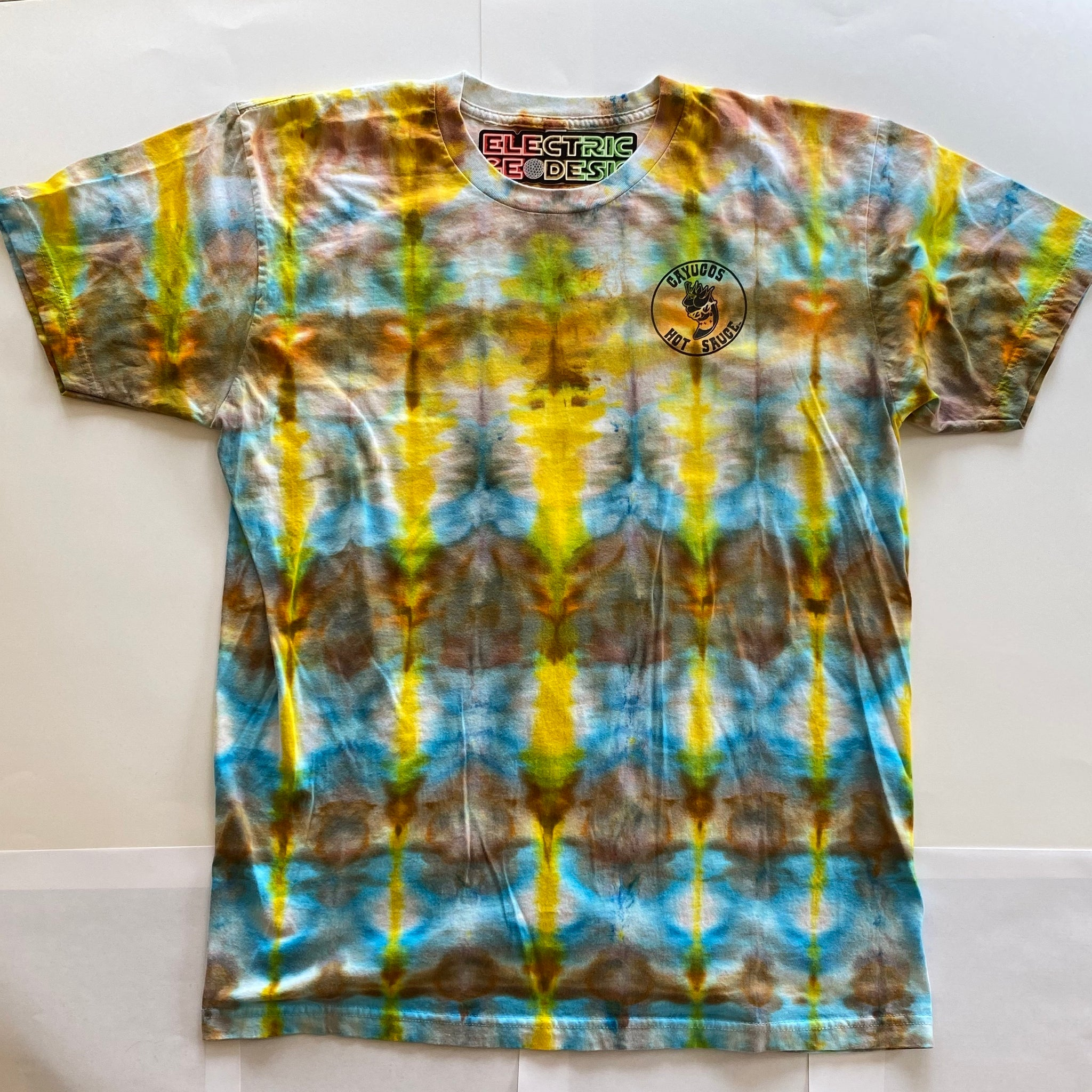 Electric Geodesic X Cayucos™ -MEN'S XL T-SHIRT- FREE SHIPPING