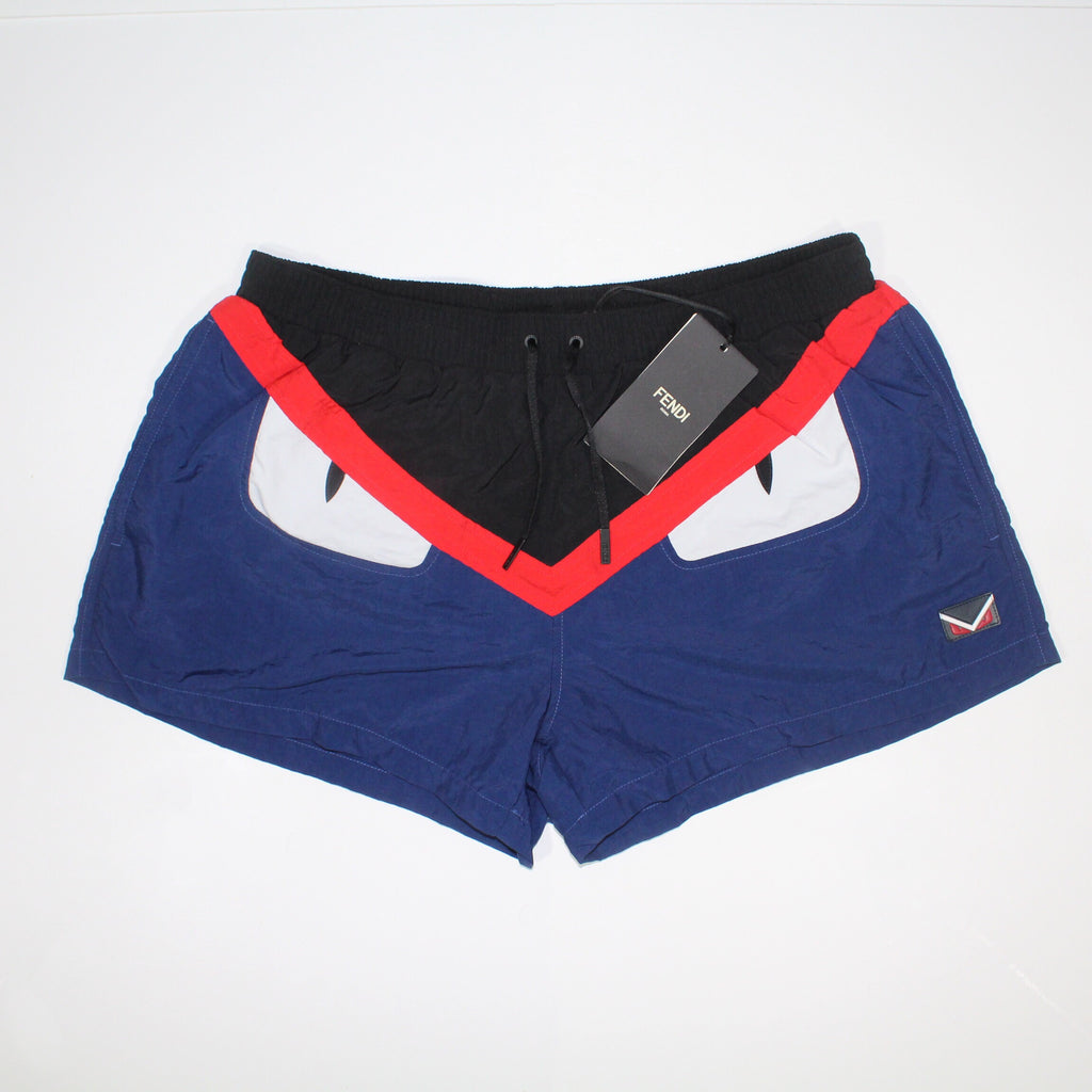 Fendi 'Bug Eyes' Swim Shorts
