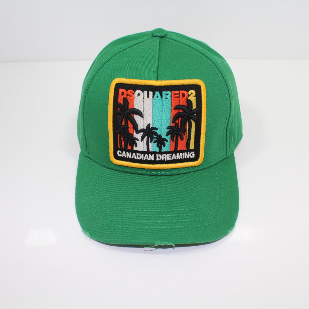 Dsquared2 Canadian Dreaming Green Cap