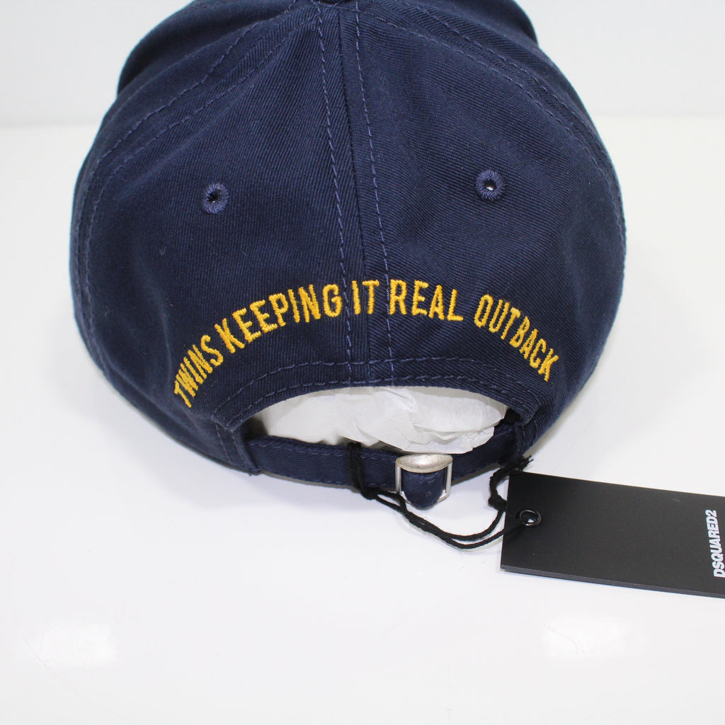 Dsquared2 City Of Wood Navy Cap