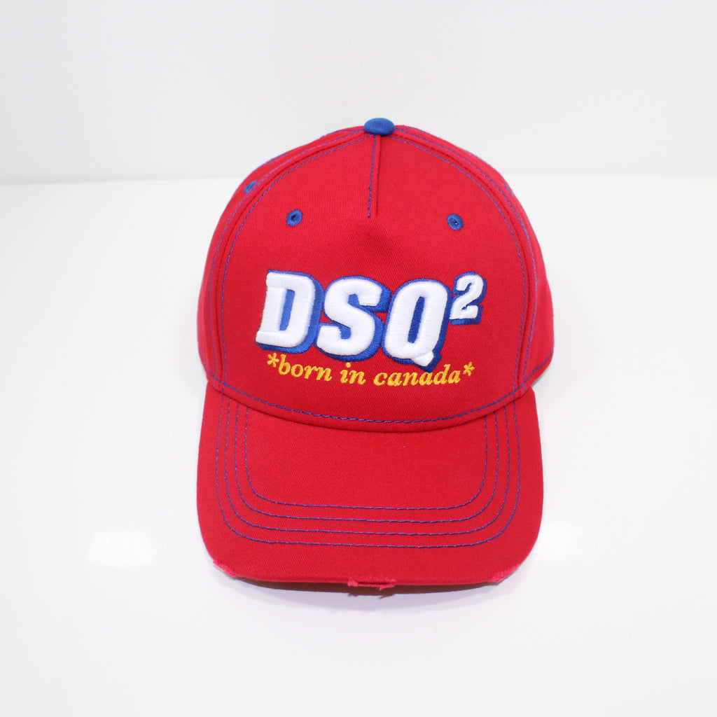 Dsquared2 Red DSQ Logo Cap