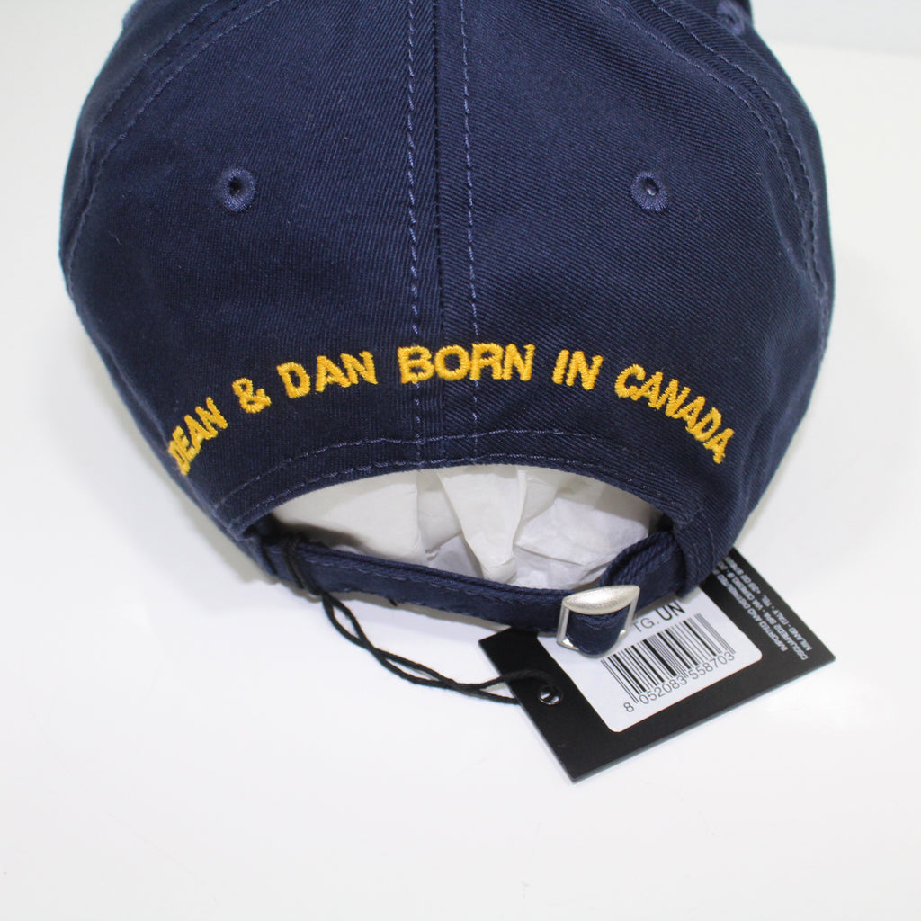 Dsquared2 F*** All But The Flag Navy Cap