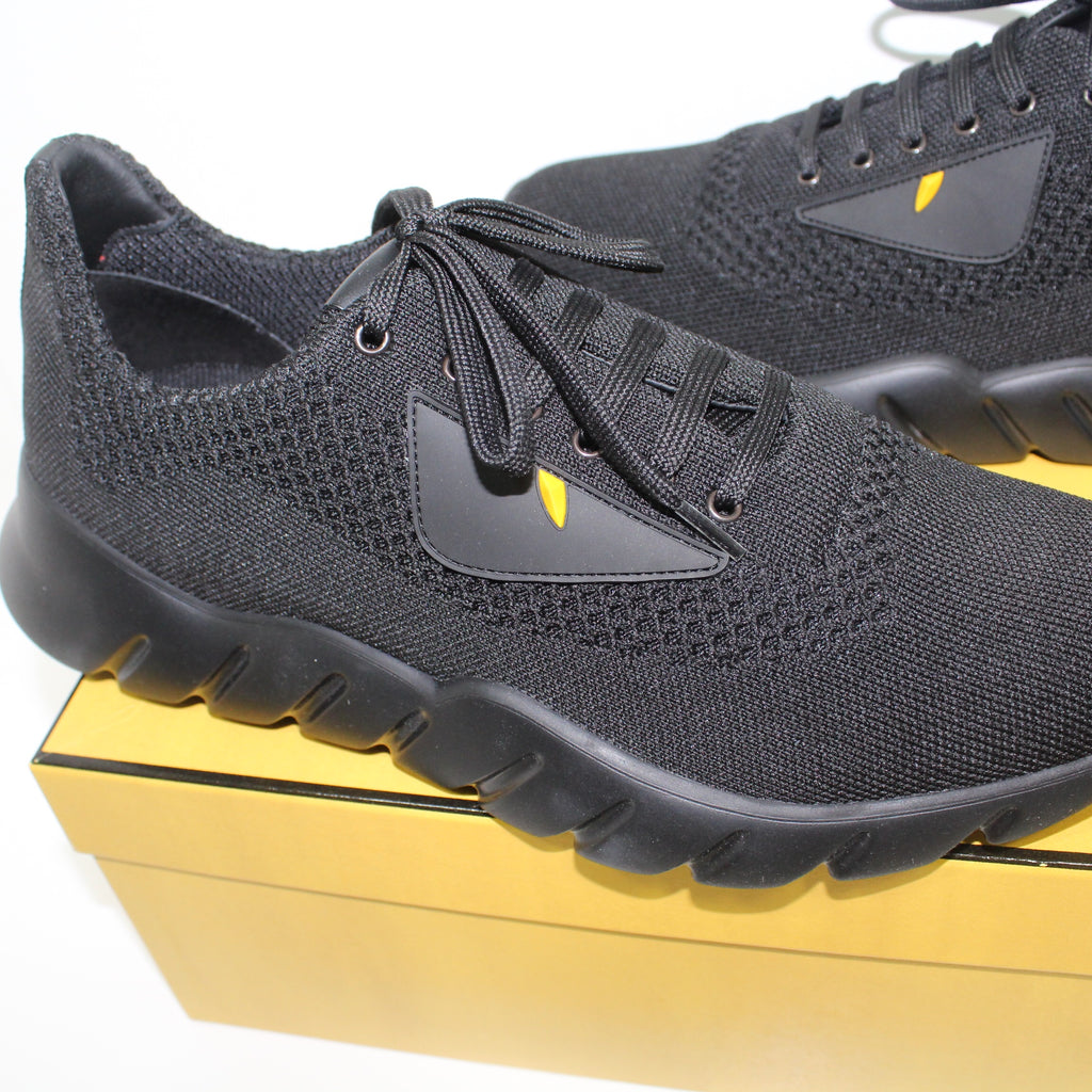 Fendi Bug Eye Black Runners