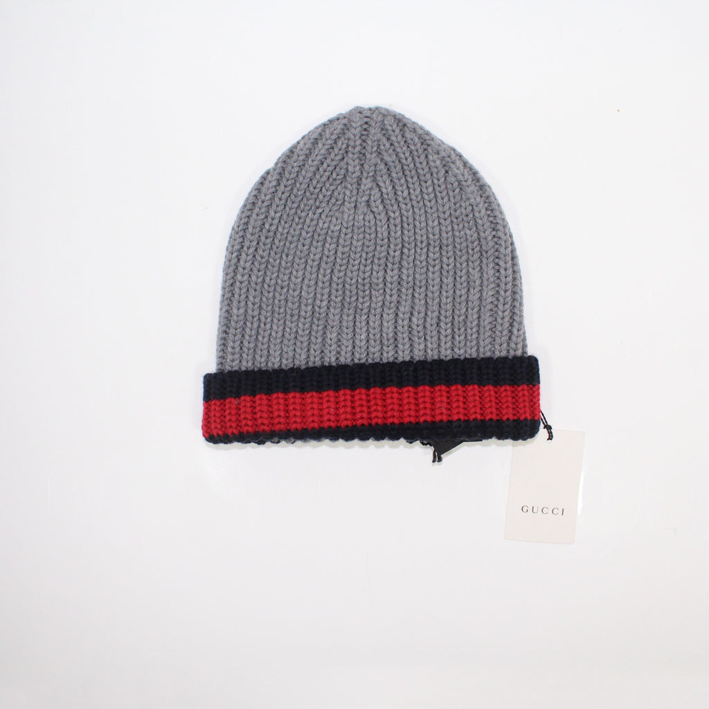 Gucci Wool Beanie Grey
