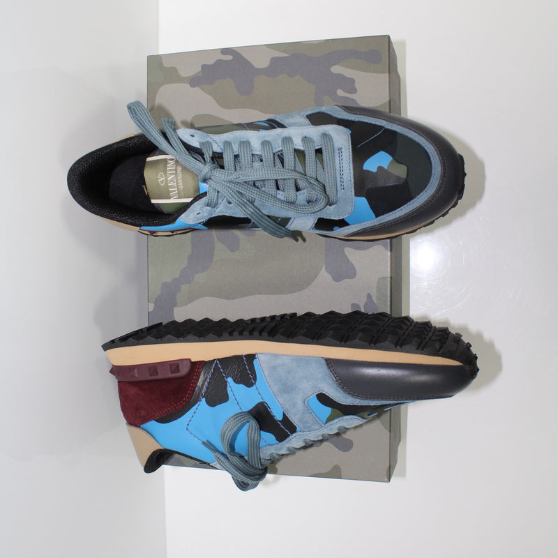 Valentino Blue Rockrunner Trainers