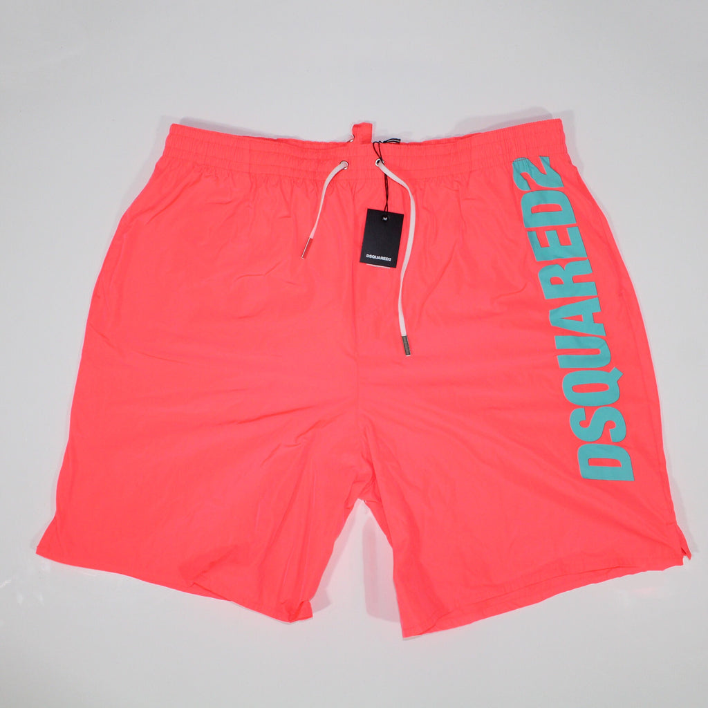 Dsquared2 Swim Shorts Red Long