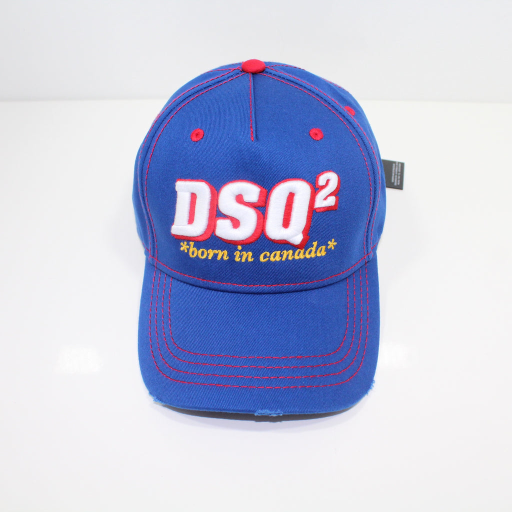Dsquared2 Blue DSQ Logo Cap