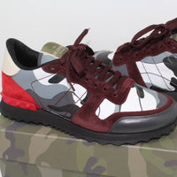 Valentino Rockrunner Trainers Red