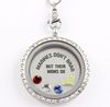 Marine Moms Brag Charm Necklace