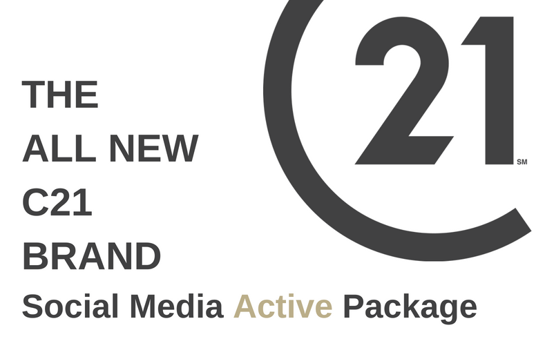 C21GREEN Social Media Active Package. THE ALL NEW C21 BRAND