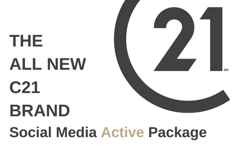 Social Media Active Package. THE ALL NEW C21 BRAND