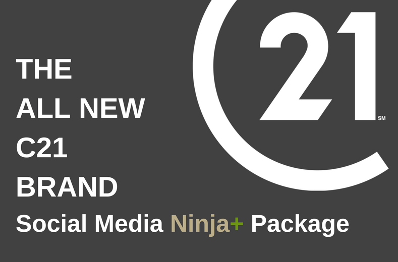 C21GREEN Social Media Ninja+ Package. THE ALL NEW C21 BRAND