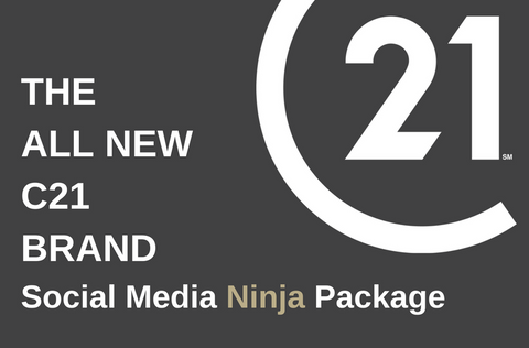 C21GREEN Social Media Ninja Package. THE ALL NEW C21 BRAND