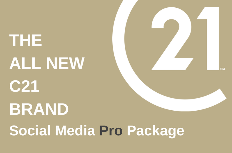 C21GREEN Social Media Pro Package. THE ALL NEW C21 BRAND