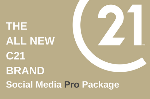Social Media Pro Package. THE ALL NEW C21 BRAND