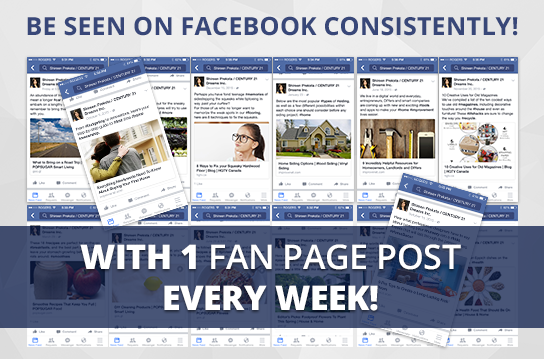 Facebook Active-1 Maintenance Package. One (1) Month of Dedicated Fan Page Maintenance Service. 1 Post per Week.