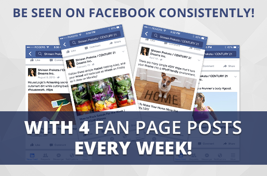 Facebook Active-4+ Maintenance Package. One (1) Month of Dedicated Fan Page Maintenance Service. 4 Posts per Week.