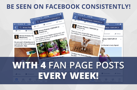 Facebook Active-4 Maintenance Package. One (1) Month of Dedicated Fan Page Maintenance Service. 4 Posts per Week.