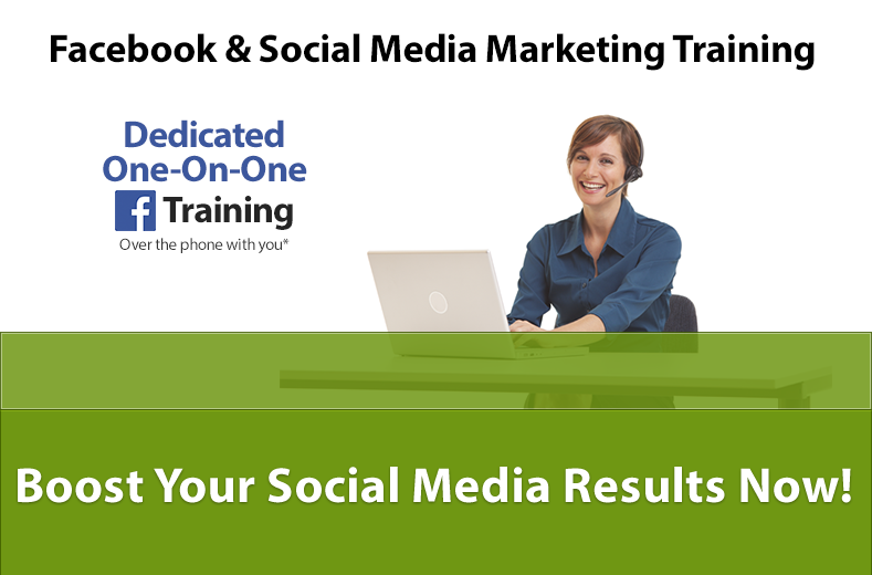 One-On-One Facebook & Social Media Marketing Training