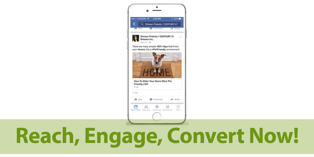 Reach, Engage, Convert Now!