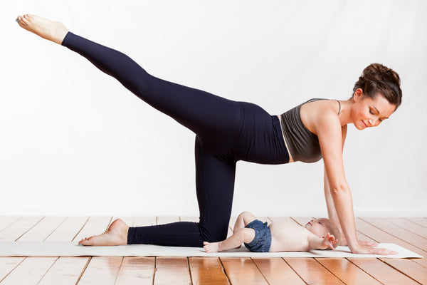 5 Gentle Yoga Postures for Postpartum