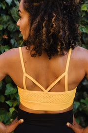 Adore Maternity & Nursing Bralette - Sunset