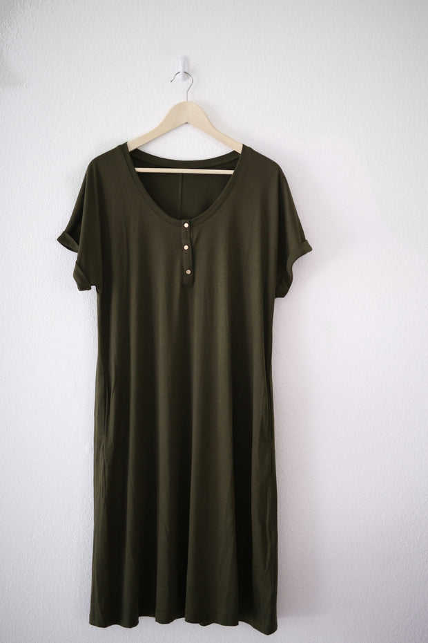 HUMBLE HILO DRESS Olive