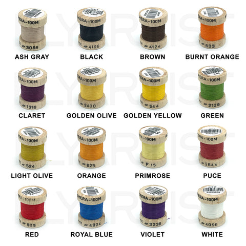 Fly Fishing #6A Gold Pearsall/'s Gossamer Silk Threads