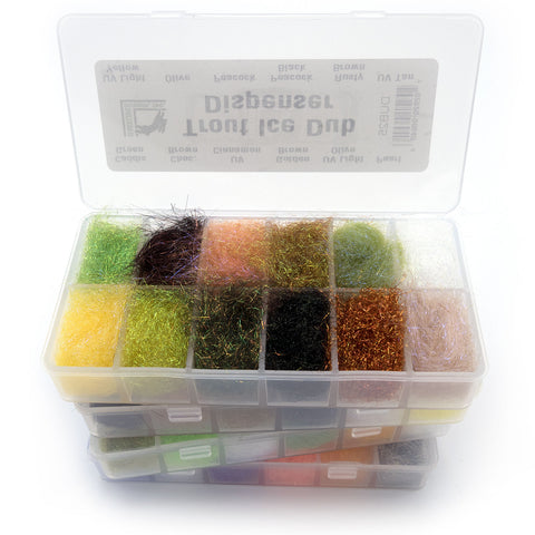Fly Tying Dubbing Dispensers