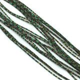Hareline Barred Crazy Legs - Olive / Green Flake