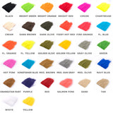 Extra Select Craft Fur Color Chart